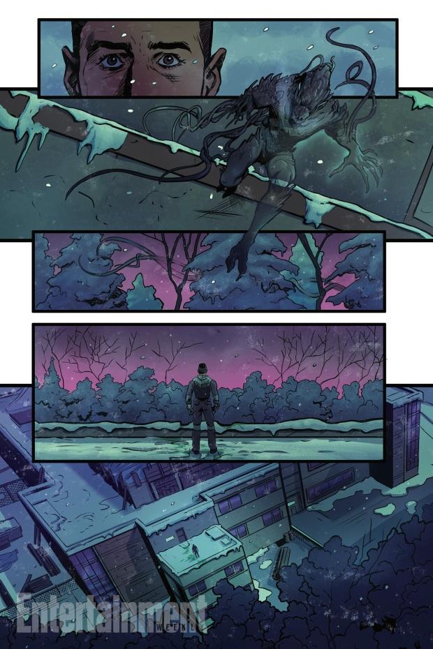 Alien Bounty Hunter strip 3